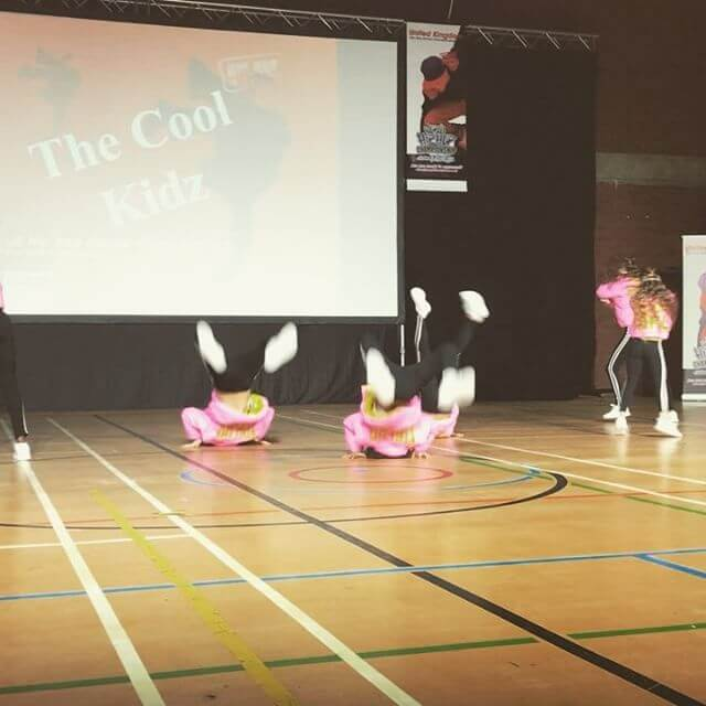 They're small but they're mighty fierce THE COOL KIDZ ?? #yougogirl #goforgold #onecountryoneteam #hiphopinternationaluk #idance