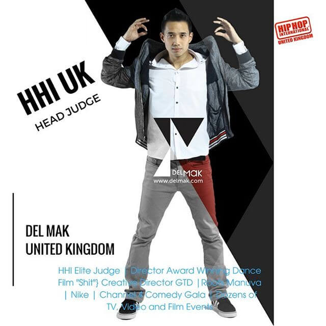 One of the UK's most Prolific Choreographers -@delmak #idance