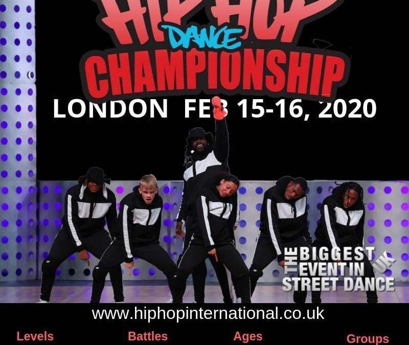 Announcing the UK Hip Hop Dance Championship 2020 - LONDON!