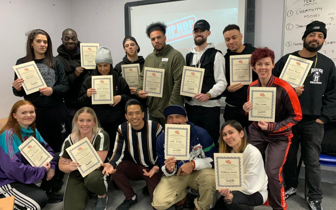 The First Graduates of the HHI Rules and Regulations Workshops